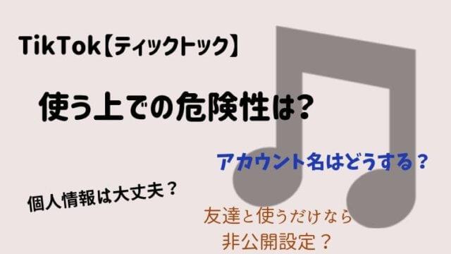 TikTok【ティックトック】の危険性とは?未成年は特に気をつけて! (1)
