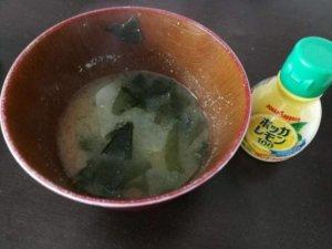 味噌汁にレモン汁を入れるとどんな味?